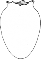 Diagram of Egg Vase